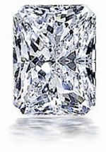 Emerald/Radiant Cut Loose Charles & Colvard Moissanite Stone - Product Image