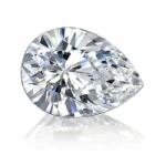Pear Cut Loose Charles & Colvard Moissanite Stone - Product Image