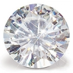 Round Loose Charles & Colvard Moissanite Stone Gem Jewel - Product Image