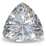Trillion Cut Loose Charles & Colvard Moissanite Stone Gems - Product Image