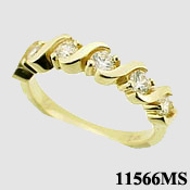 Fancy Anniversary Ring - Product Image