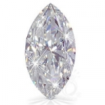 Marquis Cut Loose Charles & Colvard Moissanite Stone - Product Image