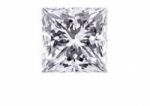 Square Princess Cut Loose Moissanite Stone - Product Image