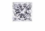 Square Princess Cut Loose Moissanite Stone - Product Image